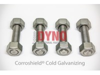 Stud Bolt ASTM A320 L7 / ASTM A194 Gr 4 ,7 Cold Galvanized
